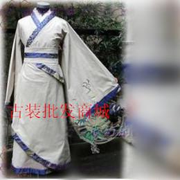 Upscale clothing costume costume white heroes Chan Chao Han Chinese clothing costume clothing costume custom samurai warrior