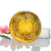 Wholesale Natural Essential Oil Soap with Pure Gold Foil Revitalizing Skin Face and Body Soap g Anti Aging Anti Acne