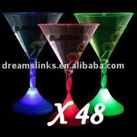 Stocked margarita glass - LIGHT UP LED FLASHING MARGARITA WINE MARTINI GLASS