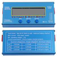 Yes battery charger analyzer - 60V A Battery Checker Balance Power Voltage Analyzer Watt Meter RC Charger dandys
