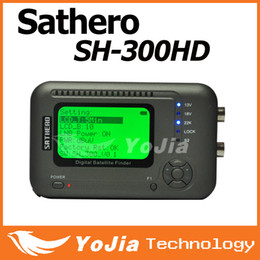 Wholesale pc Original Sathero SH HD DVB S S2 HD Digital Satellite Finder meter Support USB2