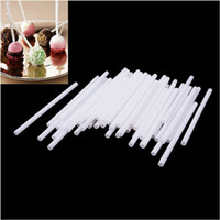 cake pop sticks - 100Pcs cm Candy Sticks Lollipop Pops Sucker Chocolate Cake Cookie Making Mould dandys