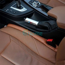 Wholesale New Decorative Luxury Leather Car Auto Seat Pad Gap Fillers Holster Spacer Filler Padding dandys