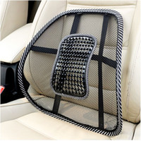 Wholesale New Elastic Lumbar Massage Back Support Office Home Car Mesh Seat Chair Cushion dandys