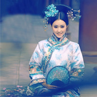 Wholesale Dear Miss Republic of the Qing Dynasty princess clothing clothes studio photography photo equipment Xiu flag clothing Georland breeze