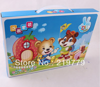 Wholesale Colored Sand Painting Sand Art Pictures Card Gift Box Set pieces cards bottles color sand Children s Christmas New Year Toy