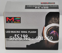 camcorder video light lens canon - MEIKE MK FC100 FC100 LED Macro Ring Flash Lens Mounted Flash For Canon D D D D D D