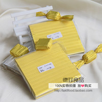 Wholesale 400pcs yellow aluminum sheet printing used for confectionery package corrugated embossed aluminum foil cm