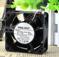 hard drive yes 6025 inch NMB 2410ML-05W-B39 6025 24V 60*60*25 three line fan belt detection alarm function