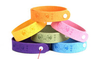 Cheap In addition to the summer mosquito repellent mosquito artifact bracelet bracelet insect repellent foot ring super fiber package merchandise