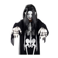 Wholesale Halloween Makeup Performance Clothing Clothing Clothing Skeleton Ghost Mask All Kinds of Packages Party