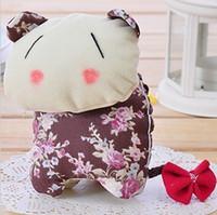 Wholesale Lazy creative home merchandise Commodity cute Korean handmade cloth pull Wallets Key Chain