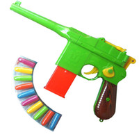 Wholesale pistol gun plastic soft bullet little boy outside sport toy guns airsoft gun pistol air gun birthday gifts new