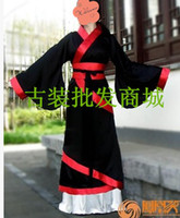 asia songs - The new Han Chinese clothing costume costume costumes female garment improved song costumes black wedding dress costumes Television