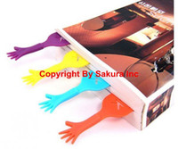 Wholesale CPAM FREE novelty item colorful bookmark HELP ME PVC bookmarks