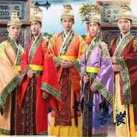 Wholesale Han Chinese clothing Chinese clothing costume costume costume costume male robes Emperor Han Wudi Prince costumes