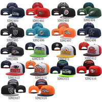Wholesale Football Team Caps Cheap Sports Snapbacks Brand Men Caps Fashion Women Hats Cool Team Snapback Hats Hot Sale Adjustable Hats Flat Caps