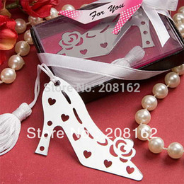 Wholesale High heeled Jordan Retro Shoes Bookmarks With Mini Greeting Cards Tassels Wedding Supplies Pendant Gifts Wedding Favors