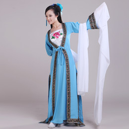 Zhang Han Chinese clothing costume   House of Flying Daggers ' s costumes costume   blue sleeves Modern Photography Clothing