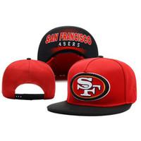 Red Snapbacks barato Sombreros de Fútbol Caps Marca Sombreros ajustables Moda Equipo sombreros del Snapback sombreros de copa para hombres y mujeres sombreros de Sun