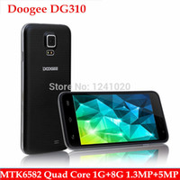 Wholesale Doogee DG310 phone MTK6582 Quad Core Mobile phone quot IPS Screen RAM GB ROM GB MP Android GSM G GPS surpass huawei honor c