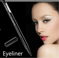 Black 100% 100% Wholesale-Hor Black,Makeup Gel Thin Design Waterproof Eyeliner Liquid Pen Eye Liner Pencil Free Shipping