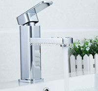 Wholesale Classic Model Hot Cold Water Kitchen Bathroom Tap Universal Rotary Faucet Basin Mixer Ship via DHL