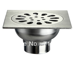 Wholesale Bathroom Floor Drain Anti odor Stainless Steel Bundle Automatic Washing Machine Two site
