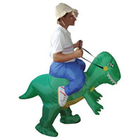 Wholesale Dinosaur Inflatable Costume CM Fancy Dress Costume Waterproof Polyester Halloween Costume Suits Cute Design