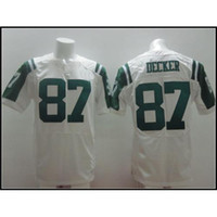 Wholesale White Eric Decker On Field Stitched Football Jerseys New Style Cheap Football Uniform Brand All Teams Football Wears for Sale