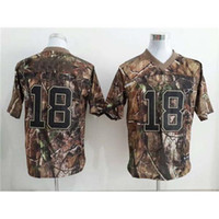 Football camo football jerseys - Real Tree Camo American Football Jerseys Size Mens Fashion Football Jersey High Quality Discount Sports Uniforms