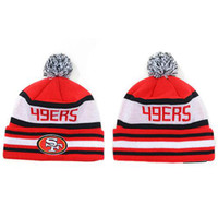 Wholesale Beanies of ers Football Beanie Hats Mens Womens Team Caps Sports Hats Top Quality Skullcaps Cool Winter Beanies Causal Hot Sale