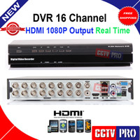 Wholesale 16CH real time Channel P2P Cloud CCTV DVR Standalone recorder Support MOBILE View P HDMI output