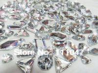 Wholesale wedding dress crystal rhinesotnes different styles beads mix sew on decorative acrylic beads