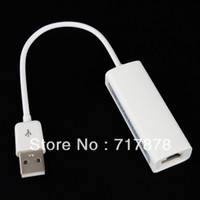 Wholesale 10 USB to Fast Ethernet RJ45 Network Lan Adapter for Win7 Windows Bits