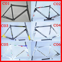 Wholesale 2014 HOT SALE Colnago C59 BB68 Carbon Road Bike Frame Full Carbon Fiber Road Racing Carbon Frame Lowest Price Can Print Different Color