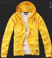 Wholesale Men s Sweater New Fashion Couple Jacket Hooded Coat Cotton Hoodie Cardigans