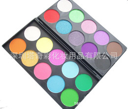 Wholesale makeup eye shadowSupply Kit color grade student edition double pearl matte eye shadow color makeup palette combined edition maquiagem