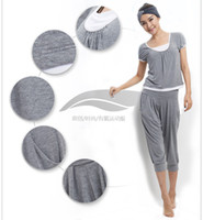 Wholesale Comfortable lady yoga suit fitness gym training wears gray new