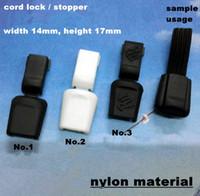 Wholesale Cord lock rope lock rope stopper end lock skus mixed LN133