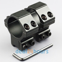 Wholesale Pair mm Scope Rings for Rifle dovetail mm Rail And Base w mm Saddle Height New