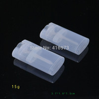 Wholesale CheapCheapCheap e cig bottles500pcs g plastic Deodorant tubes DIY lipstick tube g empty lip balm bottle