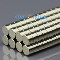 Wholesale 200pcs N50 Super Strong Round Disc Cylinder Magnets Rare Earth Neodymium mm x mm
