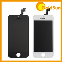 Wholesale 10PC DHL for iPhone S Complete LCD Screen Display Digitizer Assembly Replacement Touch Screen with Frame iPhone5S Test