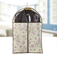 Wholesale Household Non woven fabric dustproof cover clothes cover garment cover suit storage bag X120cm