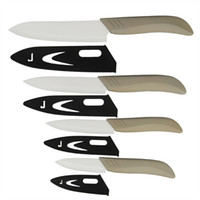 5 ceramic blade knife - 3 quot quot quot quot inch ceramic knife set kitchen knives white blade light grey handle with sheath zirconia beauty gift Global quality
