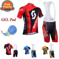 Wholesale Factory Direct Sale Summer Quick Dry Breathable cycling Team Jeraeys and GEL Pad Pants bicycle Clothing bike Sports Wear