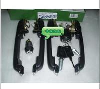 Wholesale Old santana full car lock cylinder handle luggage lock sensen anti theft belt