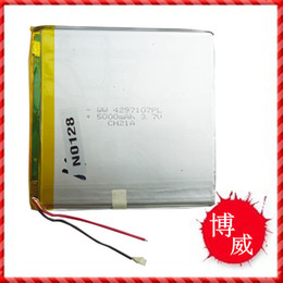 Polymer battery 5000MAH high capacity 4297107 MID Tablet PC 3.7V lithium battery