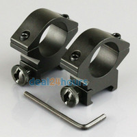 Wholesale 2pcs Tactical Low Profile mm Scope Rings mm Weaver Picatinny Rail Mount